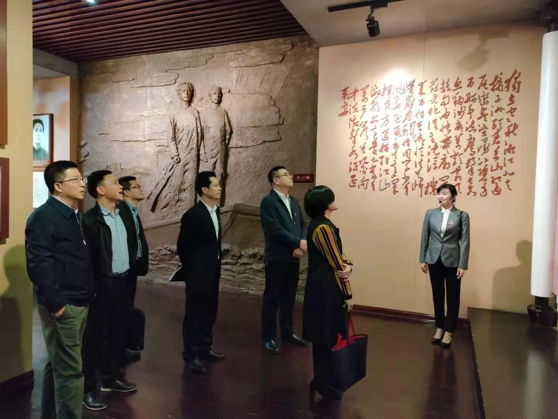 长沙市文化旅游广电局党组走进第一师范开展党史学习教育