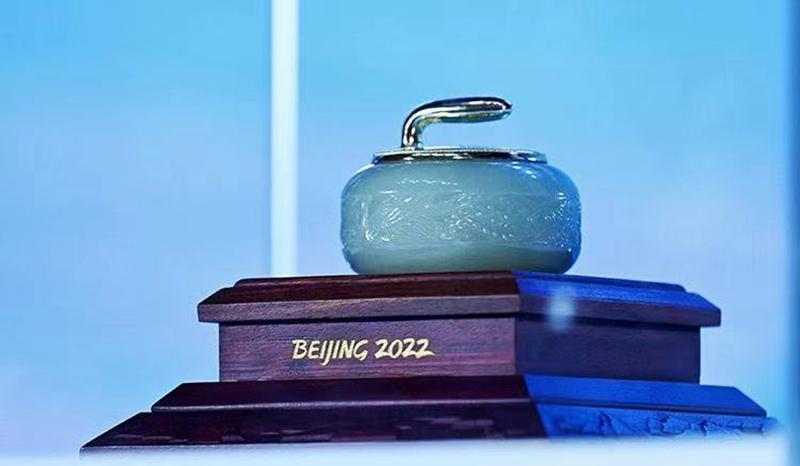 冰雪+   北京冬奥特许商品-景泰蓝和田玉冰壶惊艳亮相