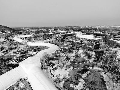 承德建成气膜保温越野滑雪赛道