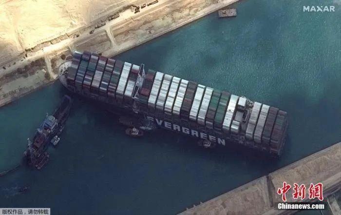 """苏伊士运河史上最贵""""堵船""""后,谁的机会来了?"""