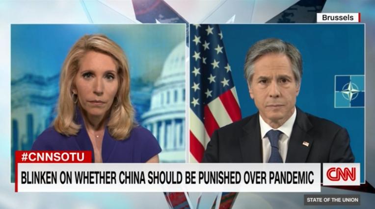 "CNN还在问""是否因新冠惩罚中国"",他这么答"