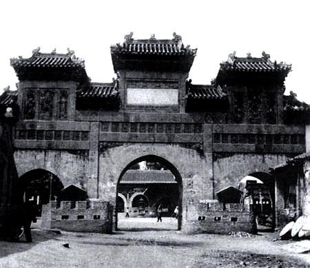 老北京东岳庙庙会旧照片