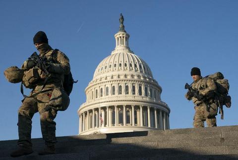 美国会骚乱后许多警察考虑离职:对领导层缺乏信任