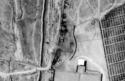 卫星照片:美军空袭了这里