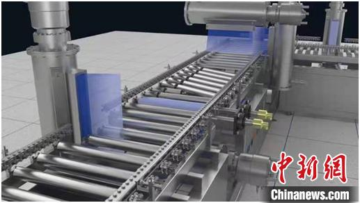 中国电子帘加速器研制新进展:杀灭冷链食品外包装箱新冠病毒