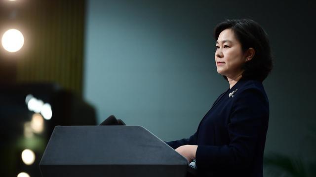 华春莹现场播放视频证据:BBC花钱雇了郑国恩编造假新闻图片