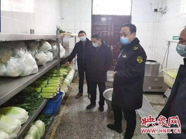 西平县市场监督管理局开展学校食品安全检查