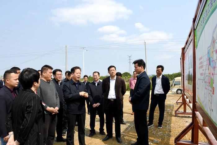 """刘有明:以重大项目建设提速争先 奋力实现一季度""""开门红"""""""