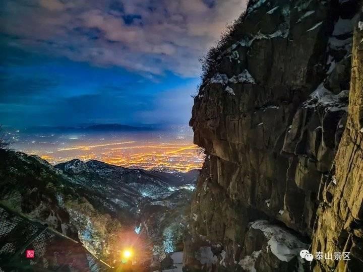 正月十五,泰山剔透如天上水晶宫!来看圆月下最美的夜