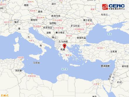 希腊6.2级地震后连发3次余震:首都雅典有震感,暂无人受伤