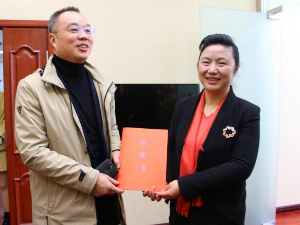 衡阳市委宣传部长张霞赴中国日报湖南记者站调研座谈