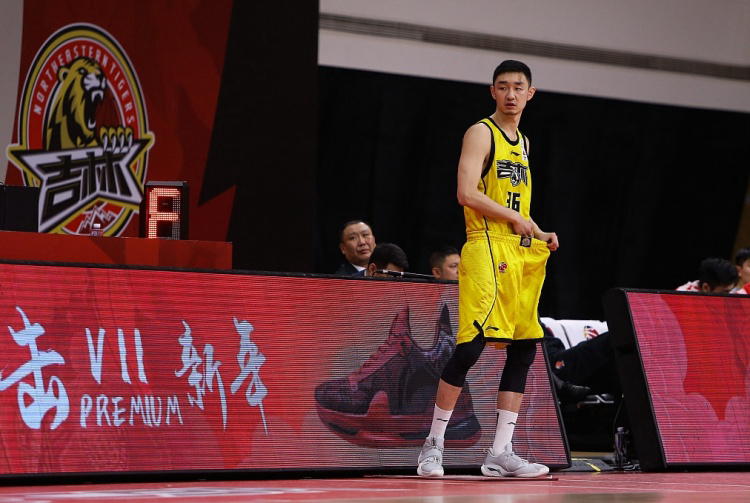 吉林官方:代怀博将因伤缺席今晚对阵浙江的比赛