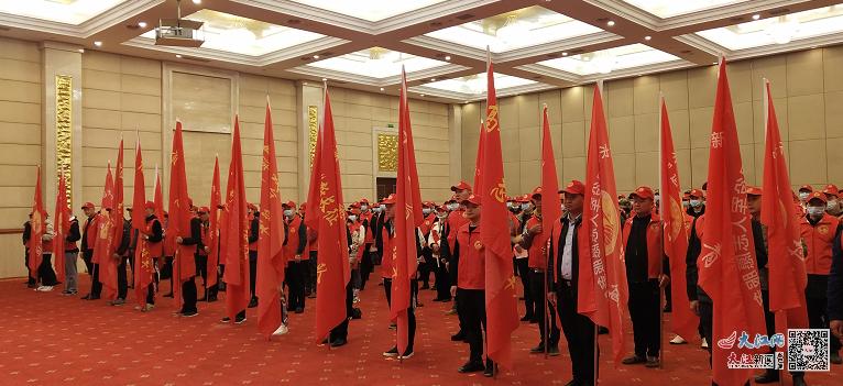 """鹰潭市深入开展""""新长征""""退役军人志愿服务活动"""