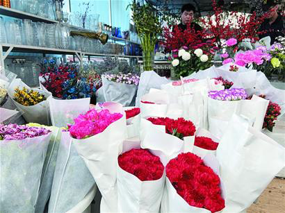 价格上涨、订单增长……三八女神节青岛鲜花市场购销两旺