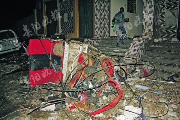 索马里首都遭自杀式汽车炸弹袭击 10人死亡,30人受伤