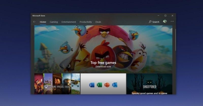 尝鲜太阳谷 UI ,微软 Win10 商店 App 流畅设计获调整