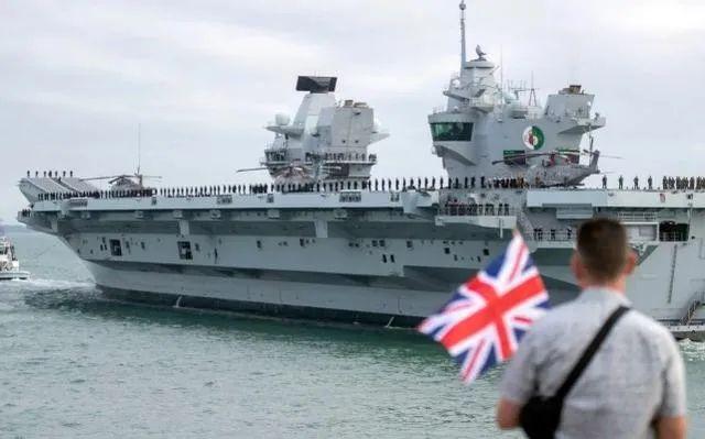 航母还没来南海 英国人先心虚了图片