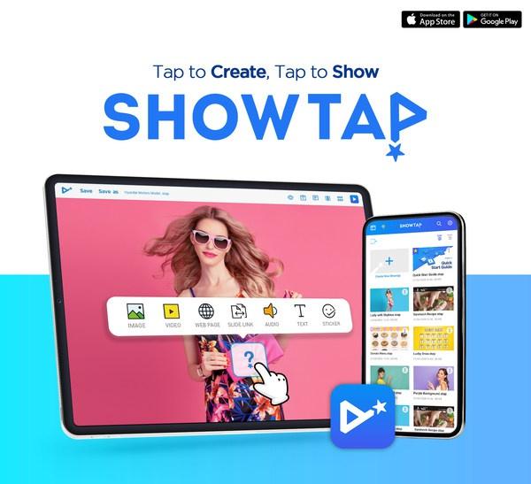 """屏上移动演示实时应用""""Showtap""""正式发布"""