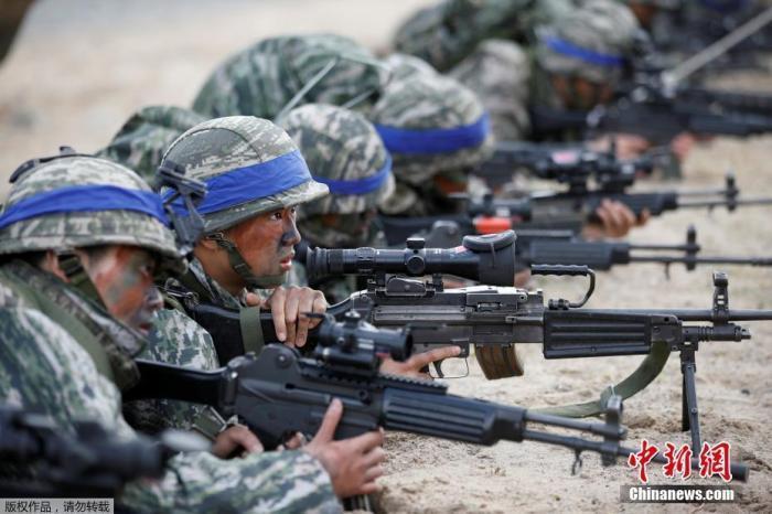 """韩美再打联合军演""""政治牌"""" 会刺激朝鲜神经吗?"""