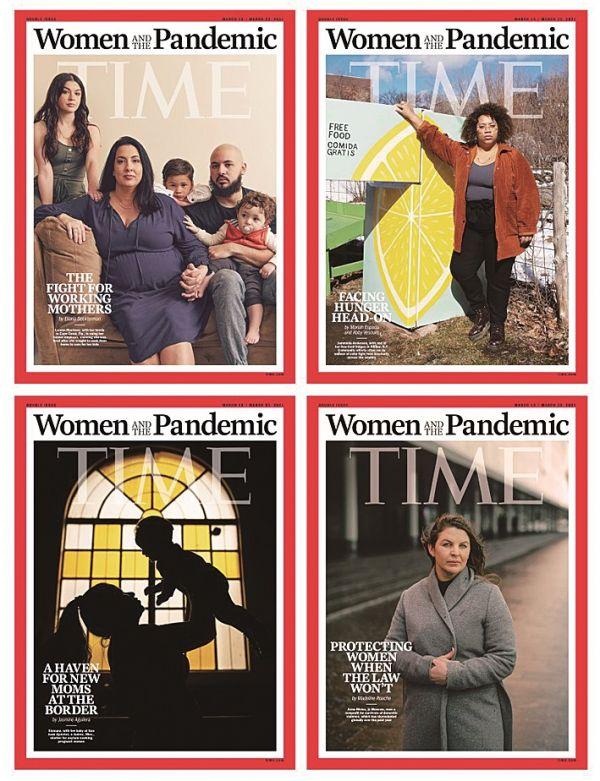 """《时代》周刊文章:美国女性""""困""""于疫情"""