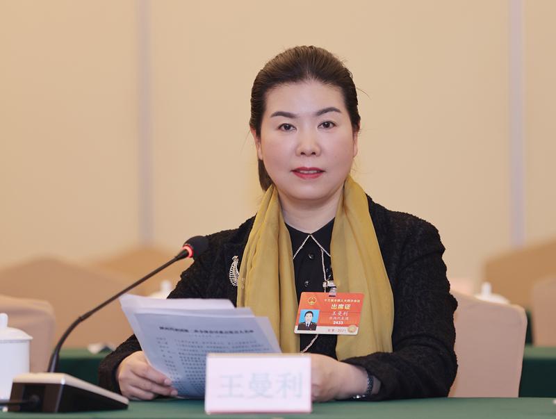 全国人大代表王曼利、刘庆民、窦延丽:基层建设固本强基,助推高质量发展图片
