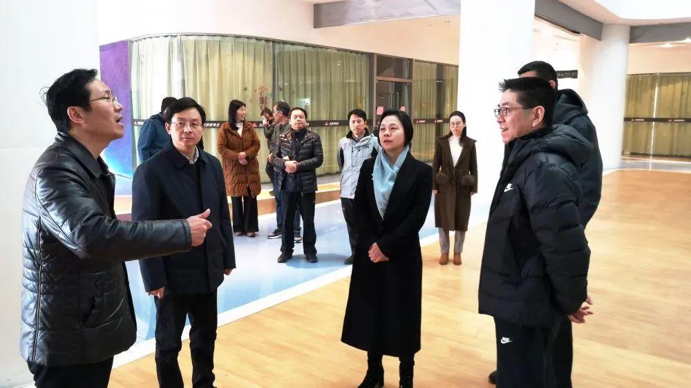 省体育局副局长熊伟一行赴高邮调研全民健身工作
