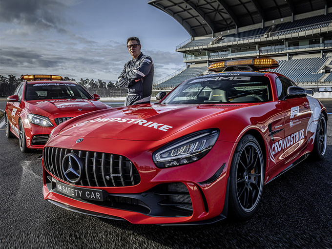 梅赛德斯AMG GT R和C63 S再任2021赛季F1安全车和救援车