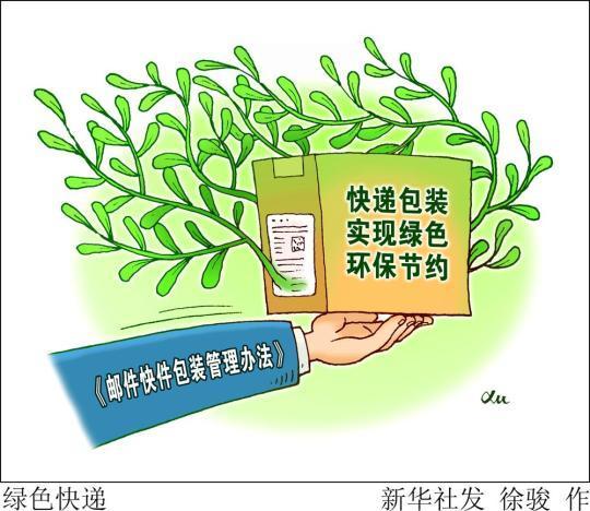 避免快递过度包装 防止污染环境