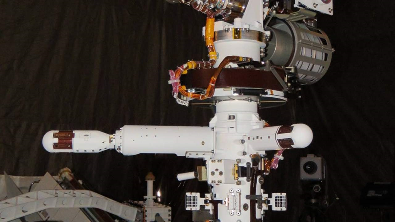NASA收到毅力号探测器的第一份火星天气报告