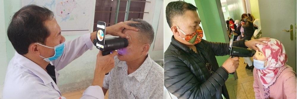 三星回收旧款Galaxy智能手机,改造成眼科医疗设备