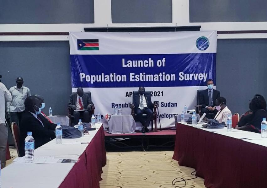 南苏丹启动人口估查