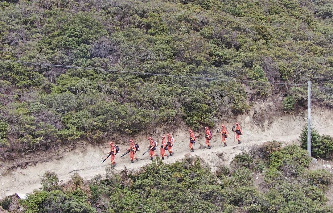 甘孜州森林消防支队:齐心协力共建绿色家园,万众一心狠抓森林防火