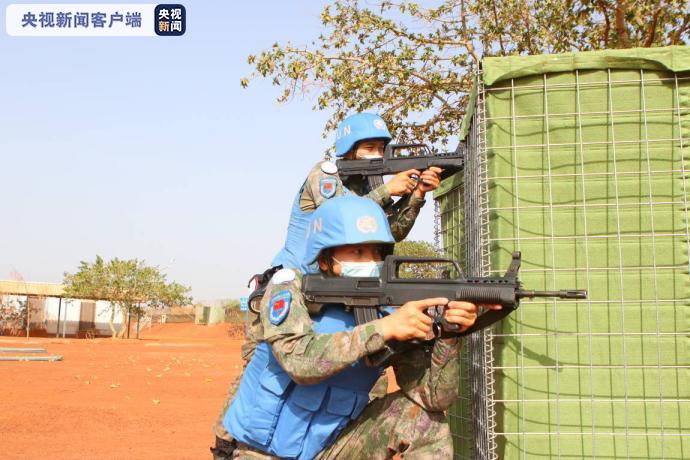 中国第11批赴南苏丹(瓦乌)维和工兵分队通过联南苏团首次战备能力评估