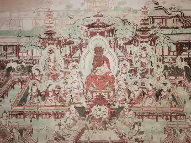 芳菲四月,相约绵阳市博物馆,赏敦煌壁画艺术精品