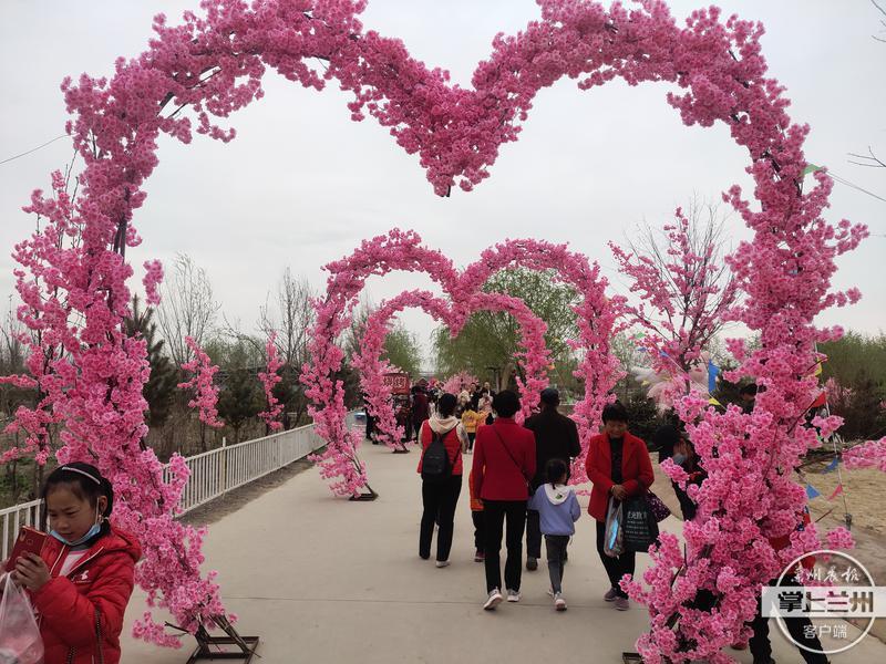 """畅玩一天不""""打烊""""武威首个樱花·恐龙乐园盛大开幕"""