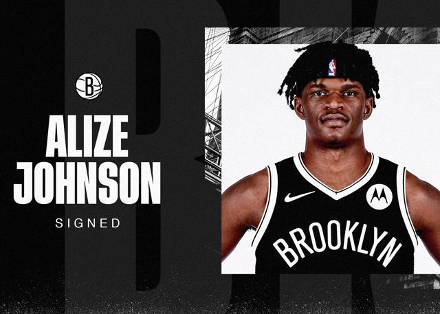 篮网与阿利兹-约翰逊达成一份多年续约合同