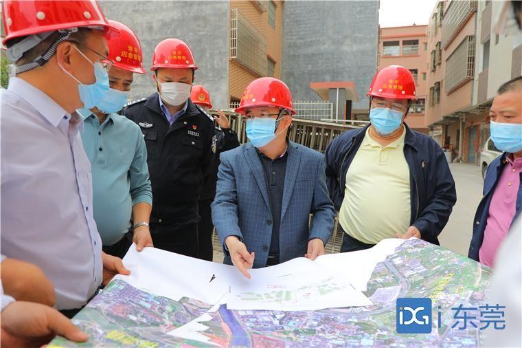 常平镇全面完成莞番高速征收任务 4月15日前交出施工作业面