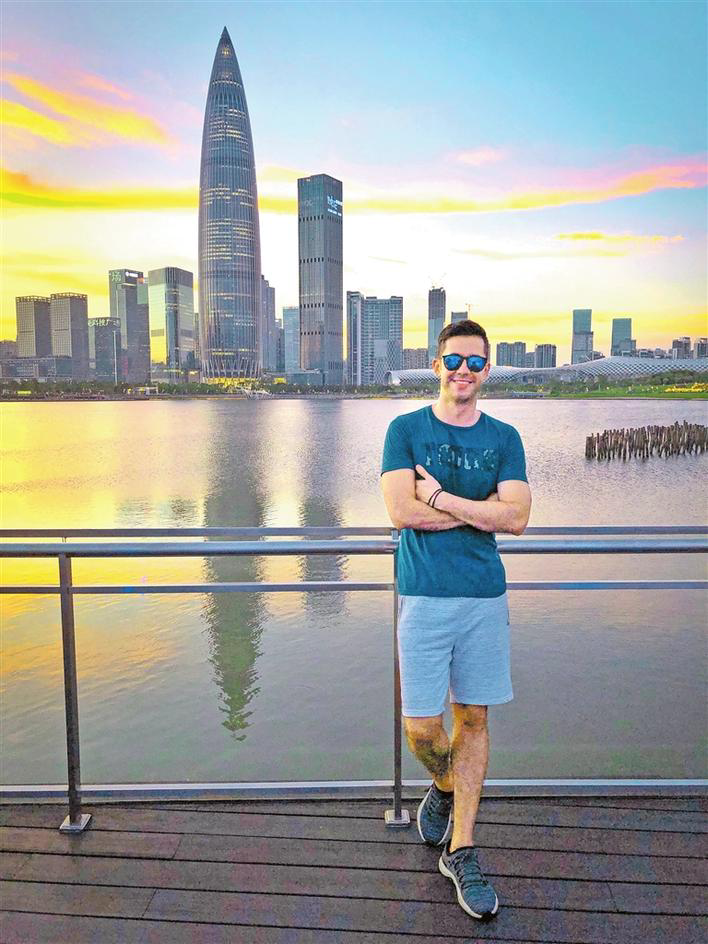 """""""我要把深圳拍给全世界看""""委内瑞拉小伙分享深圳生活走红海外社交平台"""