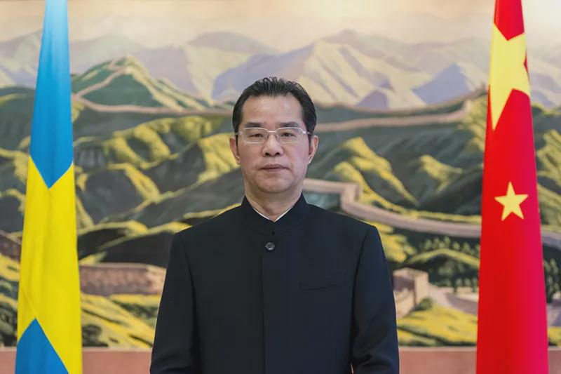 驱逐中国大使?瑞典外长表态图片