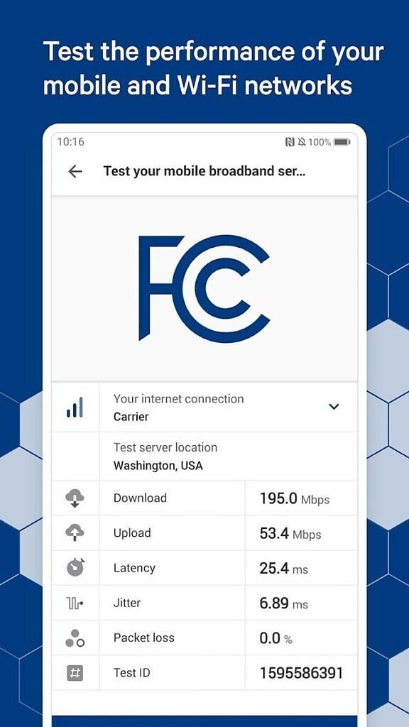 为收集美国各地宽带速度数据,FCC推出网络速度测试应用