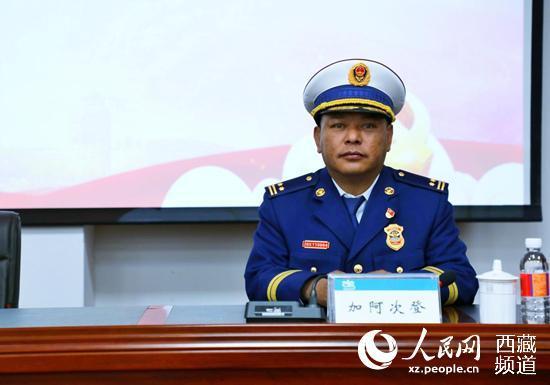 拉萨消防支队与西藏图书馆联合开展主题党日活动