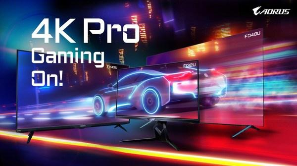 技嘉旗下电竞品牌AORUS正式进军专业4K显示领域