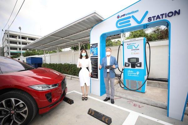 EVLOMO联合PTT OR推出其首个在泰国的快充充电站 | 美通社