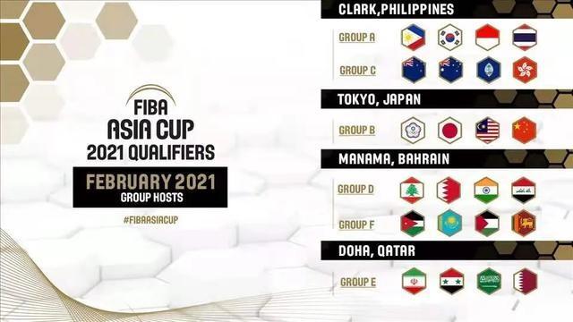 男篮亚洲杯预选赛举办地确定 中国队将赴菲律宾参赛