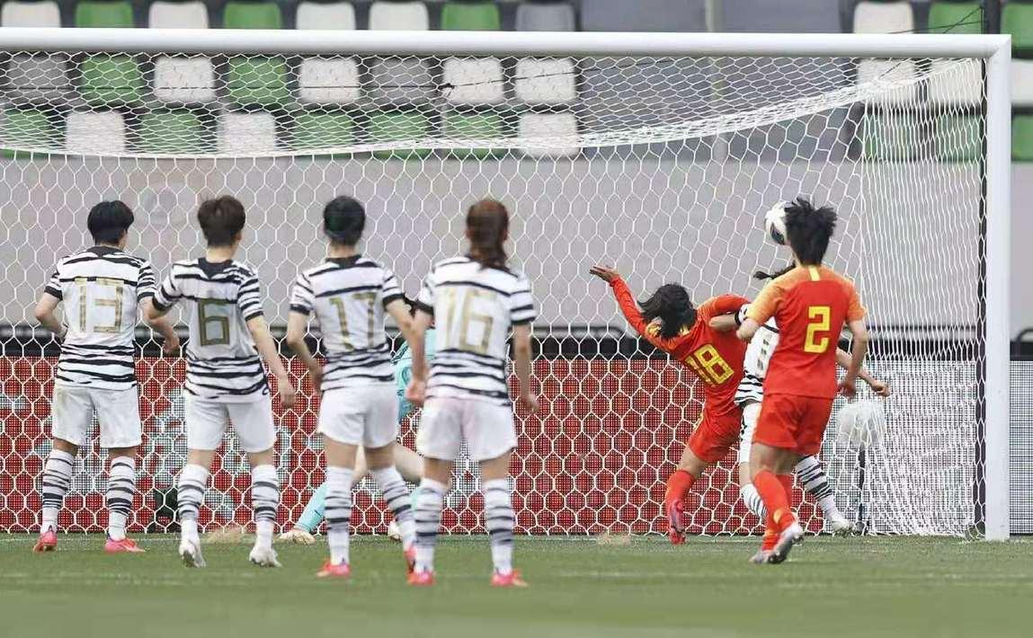 常规时间总比分中国3-3韩国