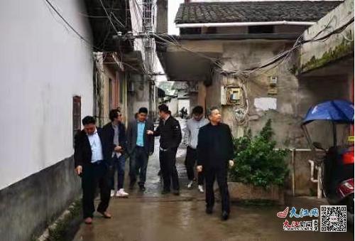 赣州市信丰县司法局法治护航老旧小区改造工作(图)