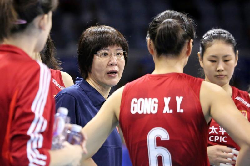 中国女排从零开始备战东京奥运会