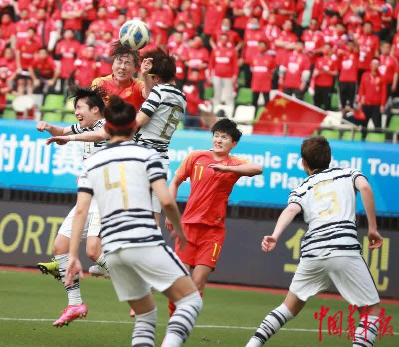 中国女足总比分4:3胜韩国 拼到东京奥运会亚洲区最后一张入场券