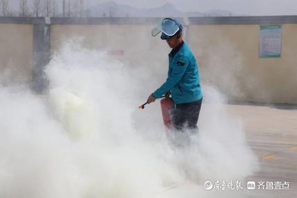 时刻绷紧安全弦,海阳市住建局开展燃气场站泄漏事故应急演练