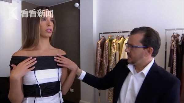 视频|300只口罩叠成裙 以色列姑娘将穿它角逐环球小姐